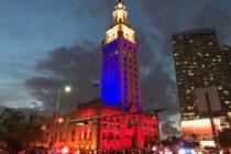 Miami Dade College iluminará la Torre de la Libertad con los colores de la bandera de Colombia