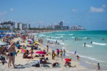 La temperatura de la arena alcanza los 132 grados en las playas de Florida
