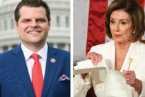 Congresista de Florida denunció a Nancy Pelosi por conducta inapropiada