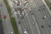 Fatal accidente causa fuertes colas en la I-95 en Broward