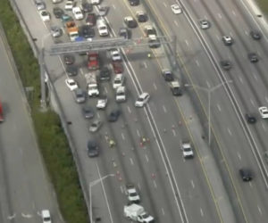 Fatal accidente causa fuertes colas en la I-95 en Broward