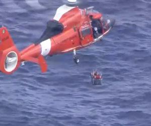 Dos personas fueron rescatadas después de que un avión se estrellara frente a la costa de las Bahamas