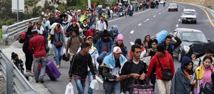 Al menos 4 millones de venezolanos han migrado por la crisis, según OIM y Acnur
