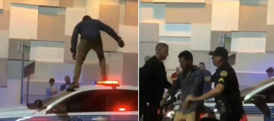 Joven cubano es arrestado en Miami por subirse a una patrulla cuando jugaba «el suelo es lava»