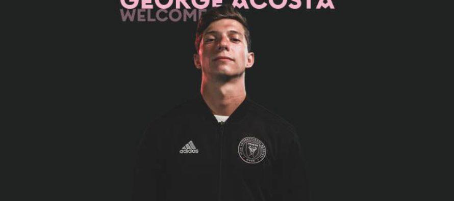 El mediocampista George Acosta es el nuevo fichaje del Inter Miami