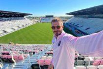David Beckham ofreció a los fans una mirada de los avances del nuevo estadio del Inter de Miami (fotos)
