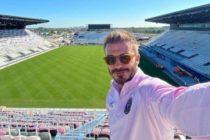 En fotos: David Beckham pasó por la ciudad del sol y dejó ver cómo está quedando el estadio del Inter de Miami