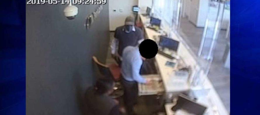 FBI ofrece recompensa a quien pueda identificar al ladrón del banco de Fort Lauderdale