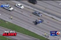 3 carriles cerrados en Palmetto Expressway debido a un accidente vehicular