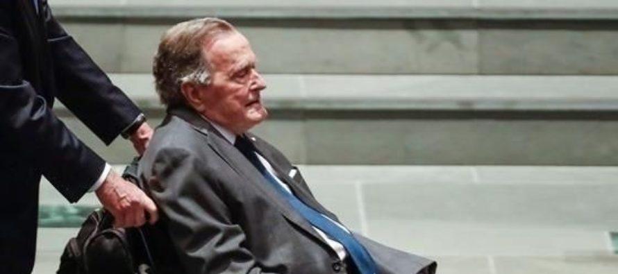 Hospitalizado expresidente Bush padre