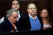 Comenzó el calvario judicial contra Weinstein por sus abusos sexuales
