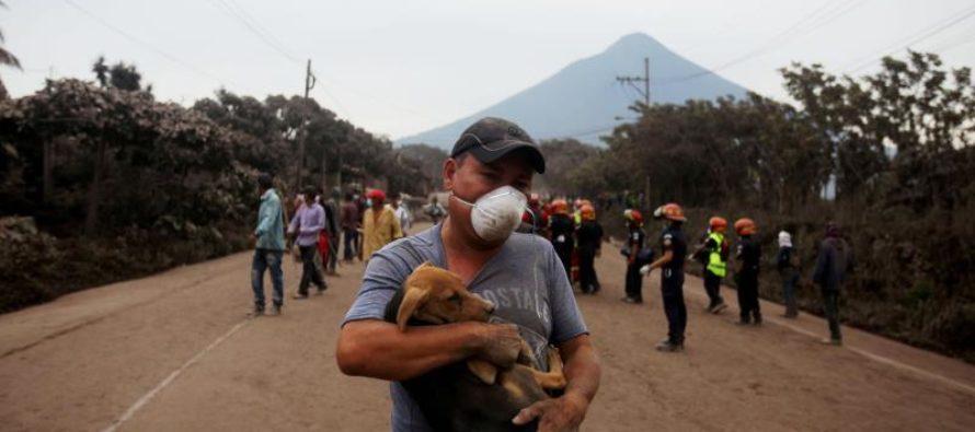 Aumentan a 30 los muertos por la erupción del volcán de Fuego en Guatemala (+video)