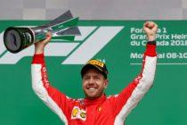 F1: Vettel alcanza en Montreal las 50 victorias y recupera el liderato