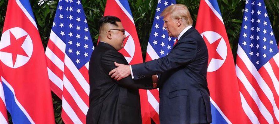 Trump anuncia que suspenderá las maniobras militares de EEUU en Corea