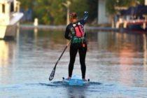 Estadounidense recorre en paddleboard trayecto de Cuba a Cayo Hueso