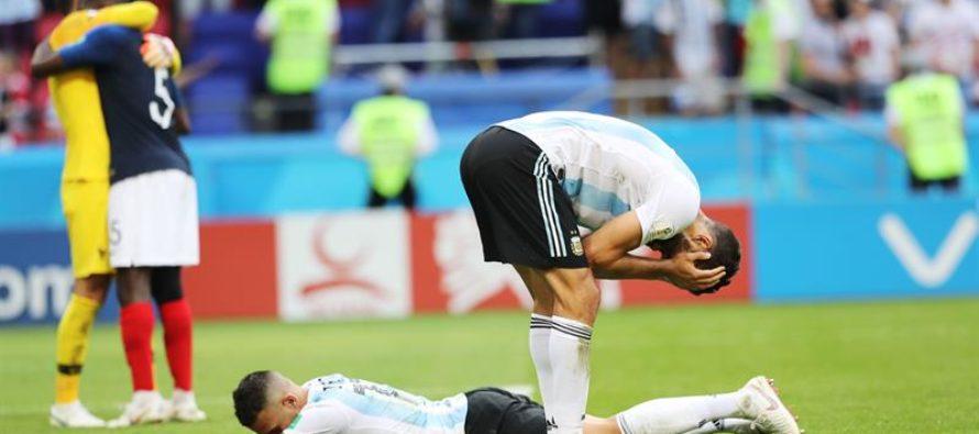 Así recogieron las redes la derrota de Argentina en el Mundial Rusia 2018