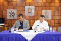 Unicaribe firmó histórico convenio para reducir riesgos y desastres en universidades