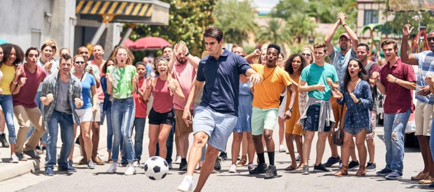 Kaká protagoniza el nuevo comercial de televisión de Universal Parks & Resorts