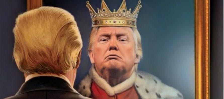 Para la revista Time: Trump se cree un Rey