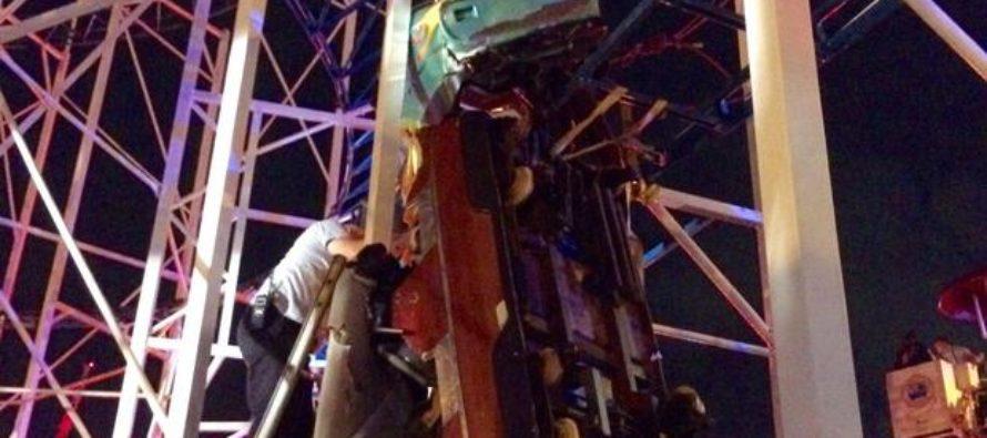 Montaña rusa se descarrila y deja seis heridos en Daytona Beach