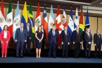 Grupo de Lima presentará una resolución sobre Venezuela en Asamblea de la OEA