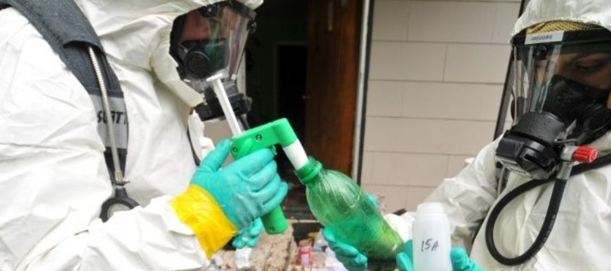 Derrame de cloro en Lockheed Martin en Orange