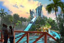 Infinity Falls del Sea World Orlando está casi lista
