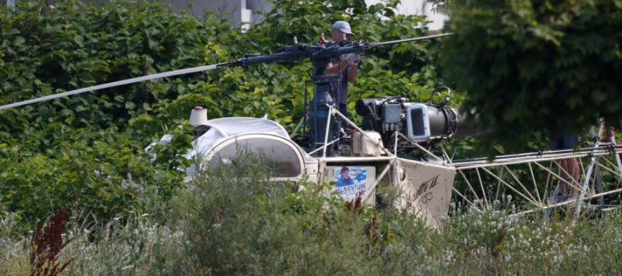 ¡Al mejor estilo de Hollywood! Famoso preso de Francia se fugó en helicóptero