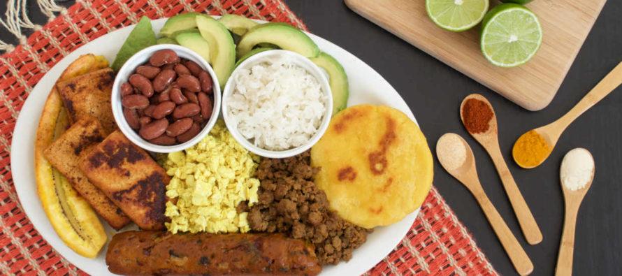 Revelan exitosa receta para preparar bandeja paisa vegana ¡Mira cómo se hace!