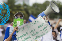 ONU: violencia en Nicaragua es producto de merma del Estado de Derecho