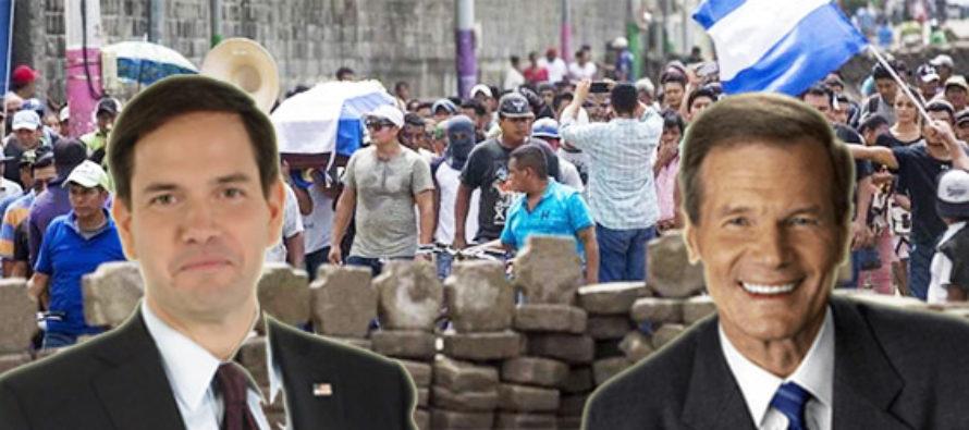Rubio y Nelson presentan proyecto de ley bipartidista para abordar crisis de Nicaragua