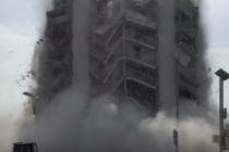 Un herido de gravedad dejó el colapso de un edificio en Miami Beach (+VIDEO)