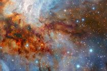 Astrónomos europeos captan imagen detallada del cúmulo estelar RCW 38