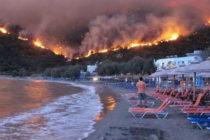 Devastador incendio cerca de Atenas causó la muerte de 74 personas