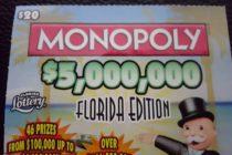 Mujer de Florida se ganá un millón con un «raspadito» de $20