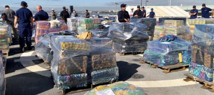 Guardacostas desembarcó 7 toneladas de cocaína en Port Everglades