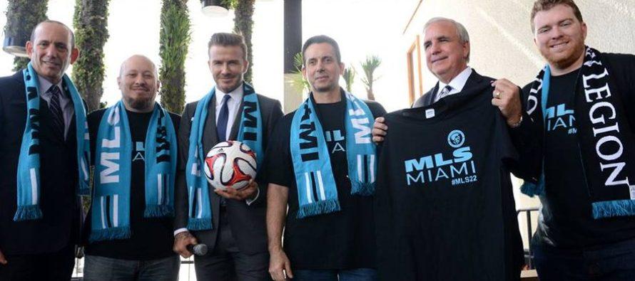Miami espera con los brazos abiertos al equipo de David Beckham