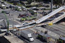 Video revela posibles causas del colapso del puente de Miami