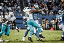 Defensiva de Dolphins destacó en caída ante Panthers de Carolina
