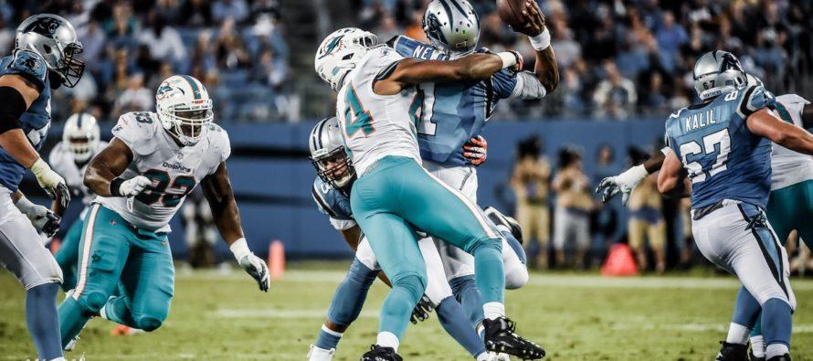 Defensiva de Dolphins destacó en caída ante Panthers de Carolina