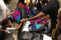 Niños desfavorecidos de una fundación recibieron regalos del Miami Heat