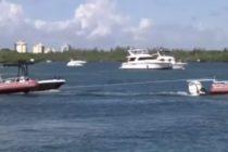 Rescatan a tres hermanos de Miami en altamar