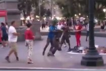Vendedores inmigrantes en España atacaron a turista de Miami