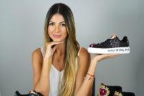 Diseñadora Mariela Vecchio apuesta por moda de zapatos intervenidos