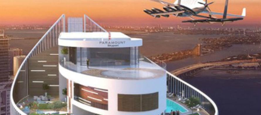 Miami tendrá un edificio con estacionamiento para autos voladores