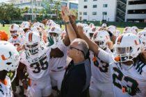 Hurricanes de Miami son el cuarto equipo más popular del fútbol universitario