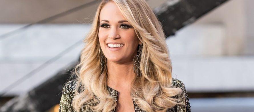 Carrie Underwood reveló que espera su segundo hijo
