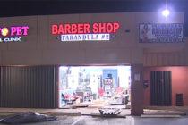 Investigan incidente de camioneta estrellada contra una barbería en Miami