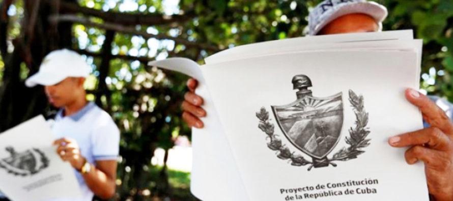 Cuba abrió este lunes consulta popular sobre proyecto de nueva Constitución