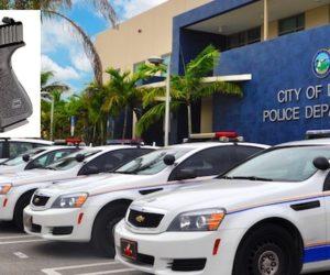Roban a policía en playa de Miami Beach incluida su arma Glock completamente cargada